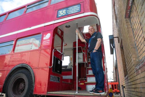 Derek Simpson, trustee at Dundee Museum of Transport
