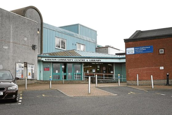 Kirkton Community Centre and Library.