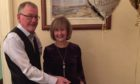 Roddy and Jan Souter at their 50th wedding anniversary.