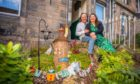 Jennifer Brown and Paul Gilson alongside their garden at 41 Friar Street in Perth. Picture by Steve MacDougall / DCT Media.