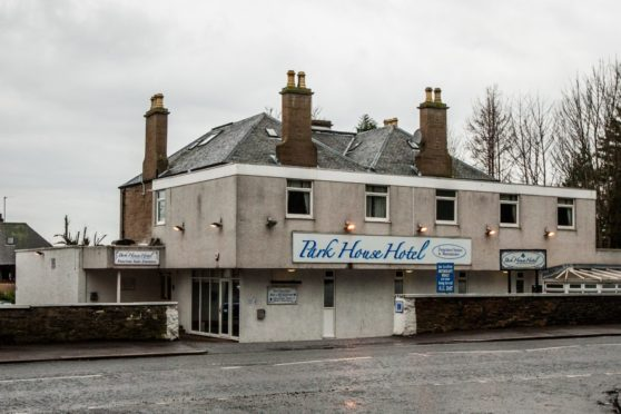 The Park House Hotel. in Coupar Angus Road, Dundee.