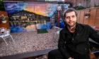 John Fraser has given the Hill Bar beer garden a mural makeover.