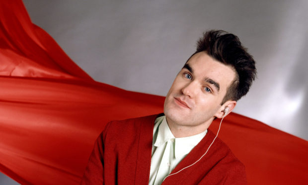 Morrissey in the 1980s.