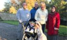 Rev Barbara Ann Sweetin with her husband Billy, Thaer and Manar and their children.