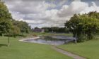 The incident took place at Borrowfield Park, with toys thrown into the pond. Picture courtesy of Google Maps.
