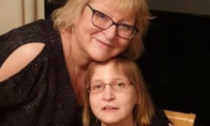 Jill Craik with her daughter Erin, who has sadly died from a brain tumour, aged just 26. Picture supplied.