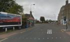 The junction of Clepington Road and Strathmartine Road, in Coldside.