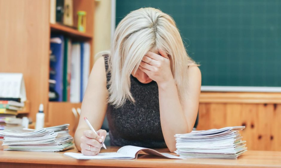 The EIS union has warned head teachers' workload is unsustainable.