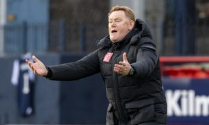 We deserved all three points against Dundee says 'devastated' Morton boss David Hopkin