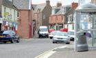 Keptie Street, Arbroath (stock image)