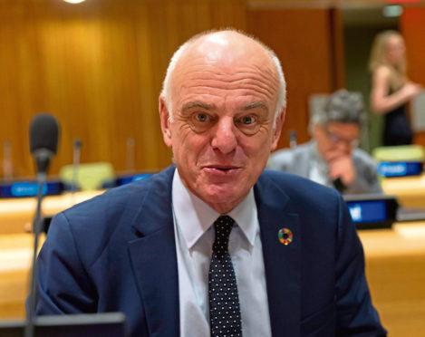Dr David Nabarro.
