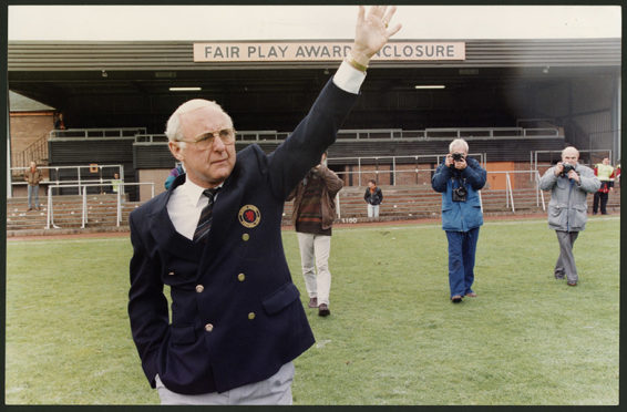 Jim McLean Dundee United Retirement