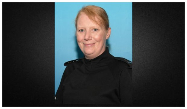 Police Scotland and Fife Division pay tribute to Constable Carol Crawford who died on October 4. Courtesy Police Scotland
