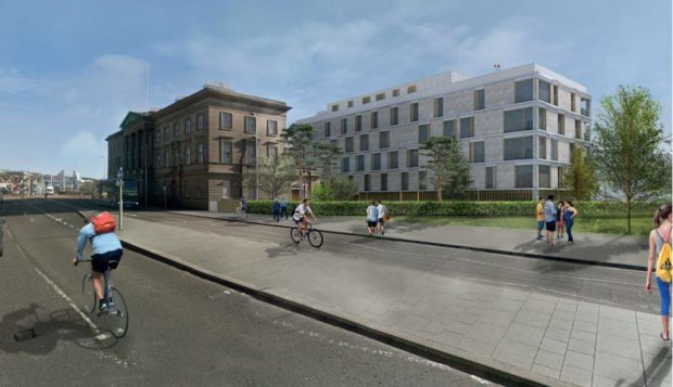 Plans for Dundee Customs House conversion into flats.