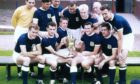 Dundee 1962 team with the league trophy - Back (from left): Pat Liney, Gordon Smith, Alan Gilzean, Bobby Wishart, Ian Ure, trainer Sammy Kean, Bobby Seith. Front: Andy Penman, Bobby Cox, Alex Hamilton, Alan Cousin and Hugh Robertson.