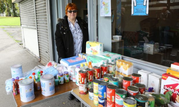 Caroline Moore who has set up Buttons And Bows, a baby bank, at the Tulloch NET Community Hub in Perth.