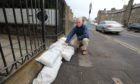 Councillor Craig Duncan has concerns over ice forming if Broughty Ferry floods badly this winter.