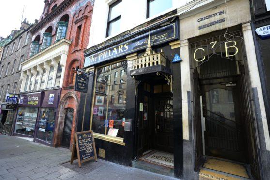 The Pillars Bar, where the break-in occurred.
