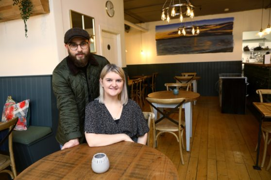 Sophie Fairweather and Robbie Jack, the new owners of The Selkie restaurant in Exchange Street.