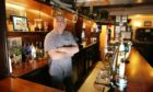 Paul Rae, landlord of the Albert Bar in Dundee.