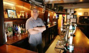 Paul Rae, landlord of the Albert Bar in Dundee.