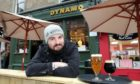 Joe Rodger of the Dynamo pub in Union Street has seen a rise in people from other parts of the country under tougher Covid-19 measures coming to Dundee for a drink.  Photo by Gareth Jennings/DCT Media.