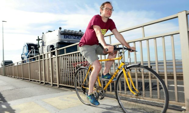 Russell Pepper, of Dundee Cycling Forum