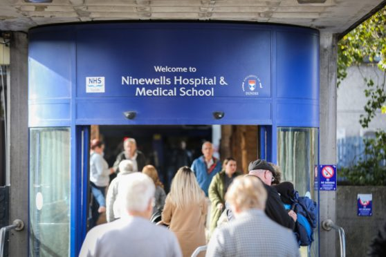 NHS Tayside has one of the lowest in-hospital coronavirus infection rates