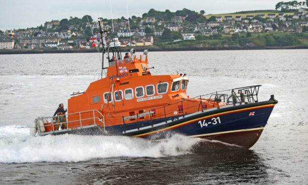 The Broughty Ferry Lifeboat, Elizabeth of Glamis, will receive a refit in Poole. (Library image)