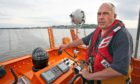 Murray Brown, the coxswain of Broughty Ferry RNLI Lifeboat.