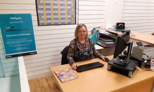 Wendy Callander, Executive Director for Wellbeing Work