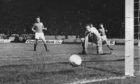 Montrose were 1-0 up at half-time in the 1975 League Cup semi-final against Rangers at Hampden Park in 1975.