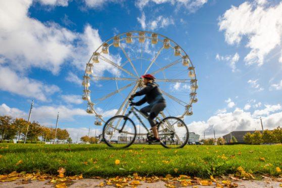 People flocked to Slessor Gardens to enjoy the Big Wheel.