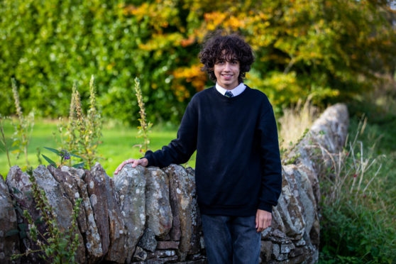 Saif Azzam, 15, will not sit National 5 exams next year.
