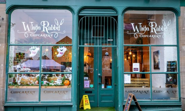 White Rabbit Cupcakery in Dundee is closing down due to Covid restrictions. Steve Brown / DCT Media