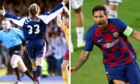 Caniggia and Messi.