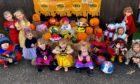 Children dressed up at Butterflies Nursery.