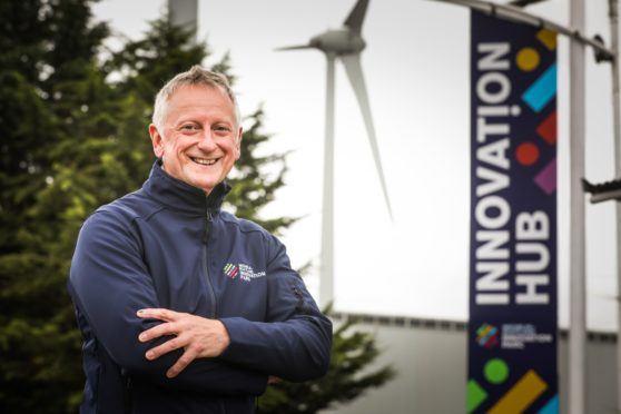 Greig Coull is the new  chief executive, who has taken over at Michelin Scotland Innovation Parc.