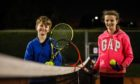 Finn Roulston, 10, and Bethany Pearson, 11, at the club's Friday Fun nights.
