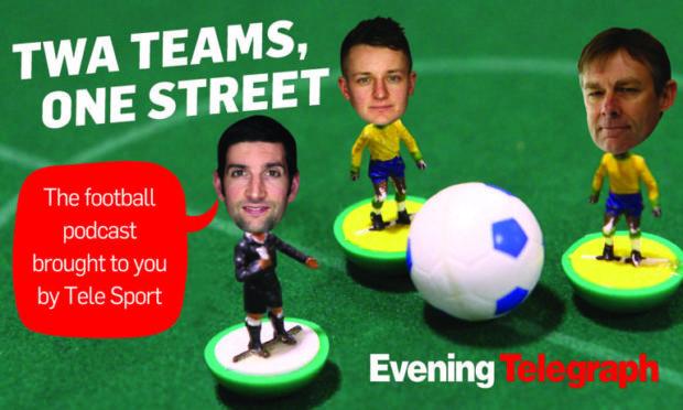 Twa Teams, One Street podcast team.