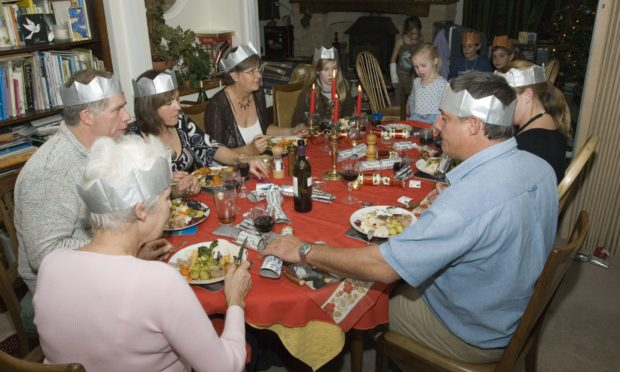 It could be lonely this Christmas if households are told not to meet. Photo by Photofusion/Shutterstock.