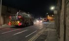 Five fire appliances and a police vehicle were in attendance on Victoria Street yesterday.