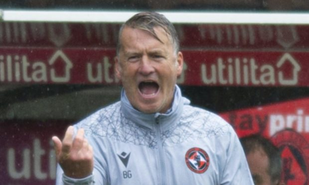 Dundee United coach Brian Grant.