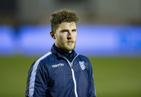 Dundee goalkeeper Jack Hamilton kept a clean sheet against Cove Rangers.