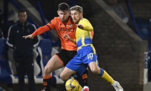 Calum Butcher says Dundee United are now officially looking up the table rather than down