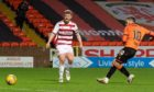 Nicky Clark makes it 1-1 on Saturday.