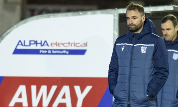 James McPake's future as Dundee boss has come into question.