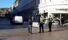 Police were called to the High Street after a disturbance.