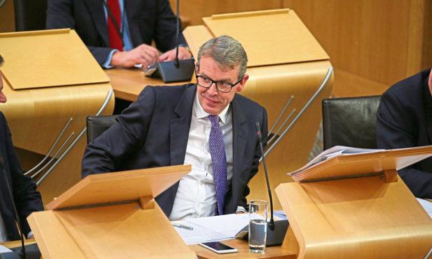 Adam Tomkins MSP in the Scottish Parliament.