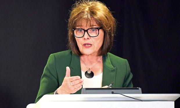 Scotland's Health Secretary Jeane Freeman.
